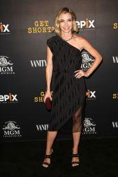 "Megan Stevenson - ""Get Shorty"" Premiere in Los Angeles 08/10/2017"
