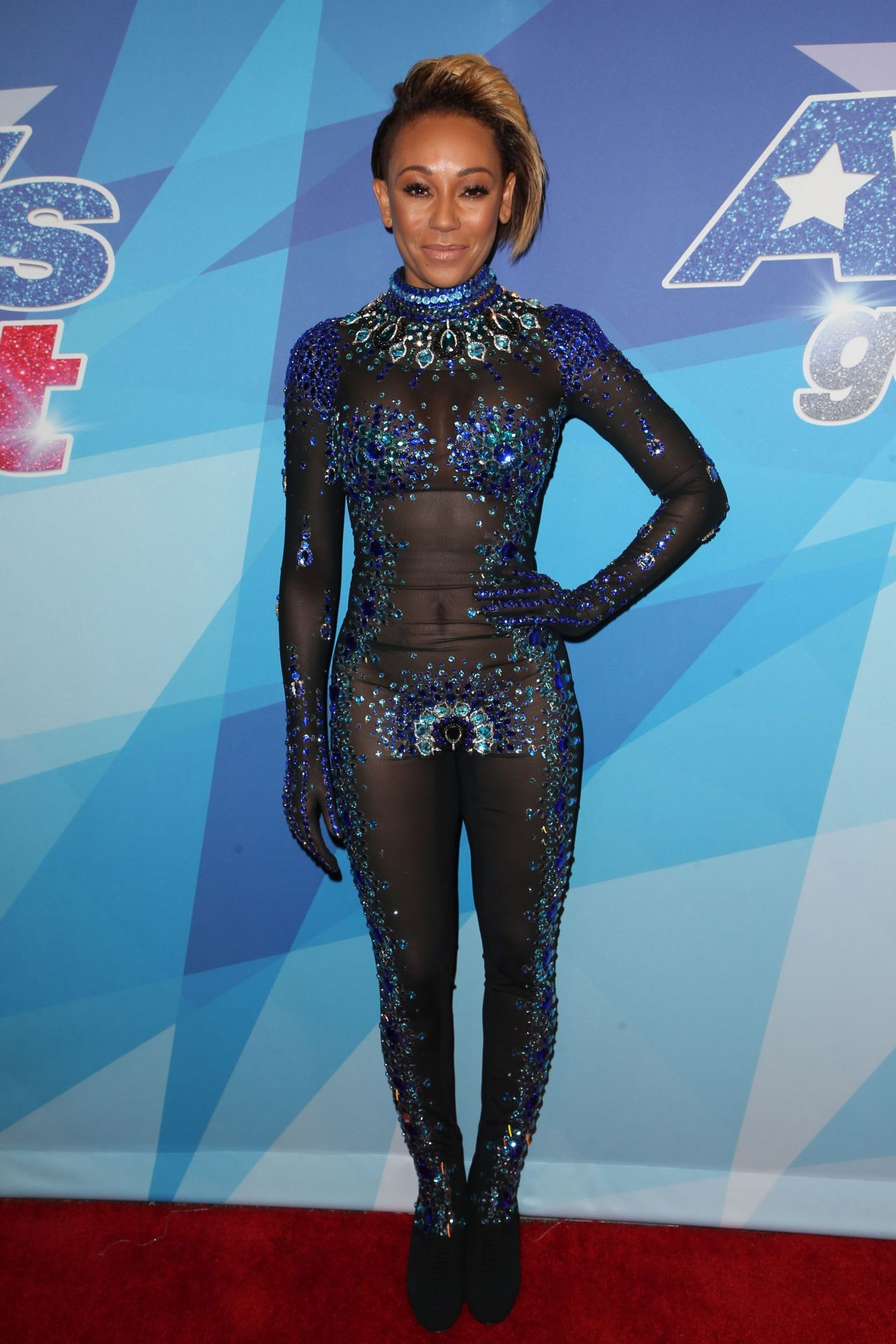 Melanie Brown America S Got Talent Season 12 Post Show