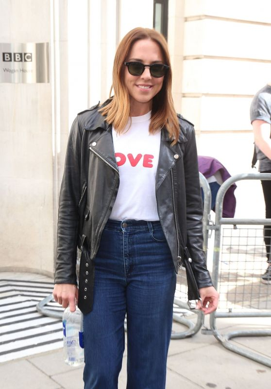 Melanie Chisholm - BBC Radio 2 Studios in London 08/05/2017