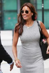 Melanie Sykes in Tight Dress - BBC Studios in London 08/12/2017
