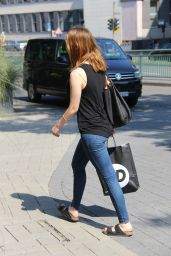 Mia Goth - Out in Cologne, Germany 08/29/2017