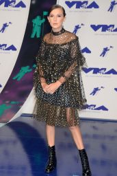 Millie Bobby Brown – MTV Video Music Awards in Los Angeles 08/27/2017