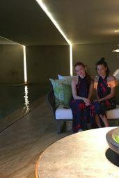 Millie Bobby Brown & Sadie Sink - Los Cabos 08/23/2017 (Part II)