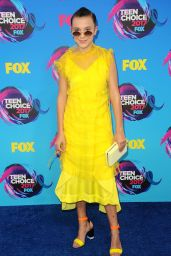 Millie Bobby Brown – Teen Choice Awards in Los Angeles 08/13/2017