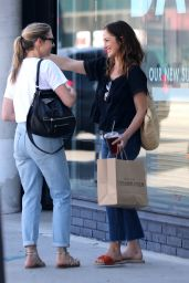 Minka Kelly at Sycamore Kitchen in Hollywood 08/21/2017