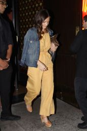 Minka Kelly at the Coronet in West Hollywood 08/14/2017