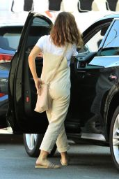 Minka Kelly - Treats Herself to Mani-Pedi in West Hollywood 08/22/2017