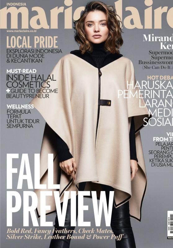 Miranda Kerr - Marie Claire Indonesia September 2017 Cover