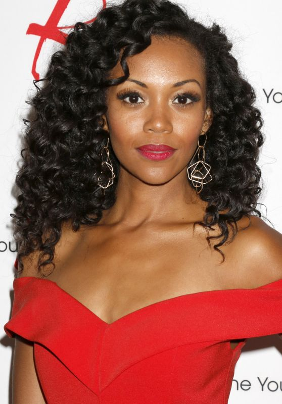Mishael Morgan - Young and Restless Fan Event 2017 in Burbank