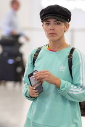 Mollie King - Arriving Back From a Short Trip From Cape Town 08/17/2017
