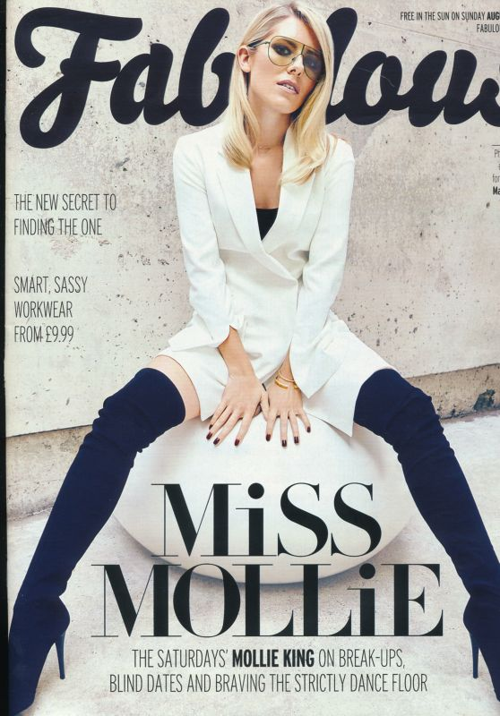 Mollie King - Fabulous Magazine August 27th 2017 Issue