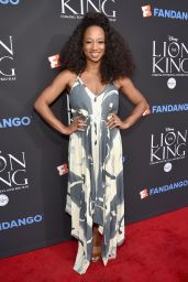 "Monique Coleman – ""The Lion King"" Sing-Along Screening in Los Angeles 08/05/2017"