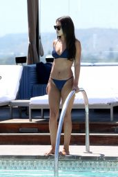 Montana Brown in Bikini - Poolside in LA 08/23/2017