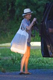 Naomi Watts - Leaving a Restaurant on the Beach in the Hamptons, August 2017