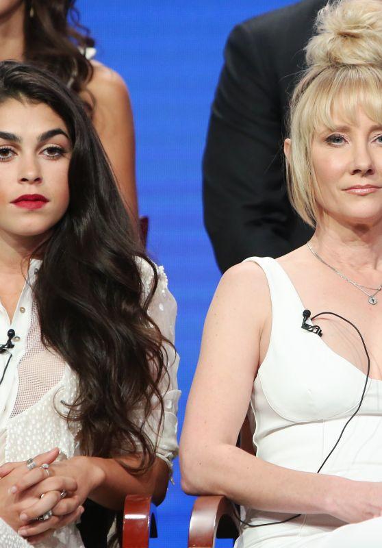 "Natacha Karam and Anne Heche - ""The Brave"" TV Show Panel at TCA Summer Press Tour in LA 08/03/2017"