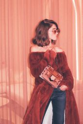 Natalia Dyer - Photographed for Coveteur Magazine, August 2017