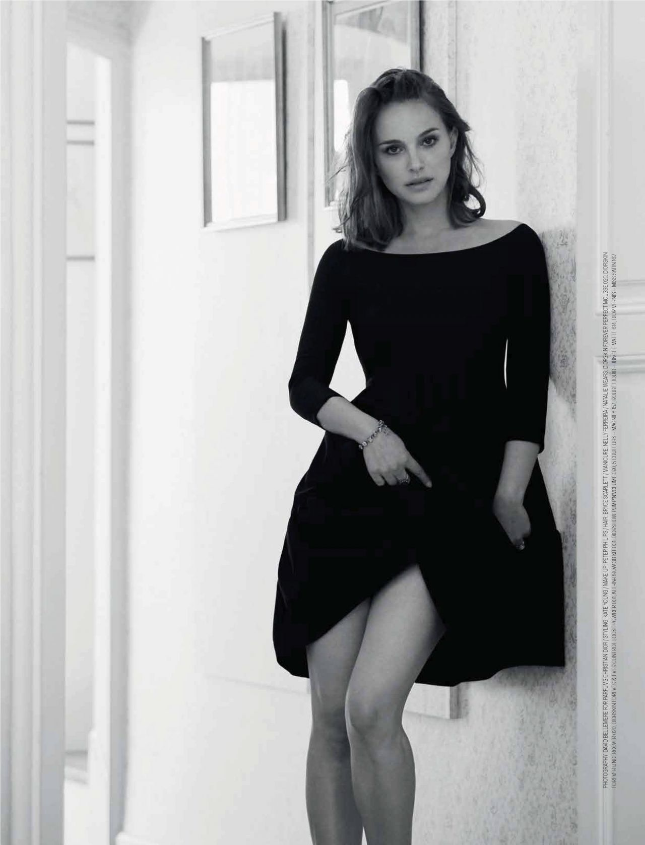 Natalie Portman Elle Magazine South Africa September