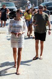 Natasha Poly and Peter Bakker - Mykonos, Greece 08/17/2017
