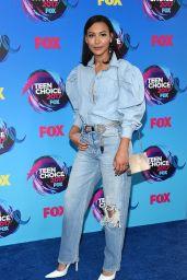 Naya Rivera – Teen Choice Awards in Los Angeles 08/13/2017