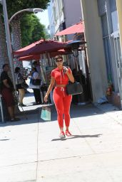 Nicole Murphy - Shopping in Beverly Hills 08/19/2017