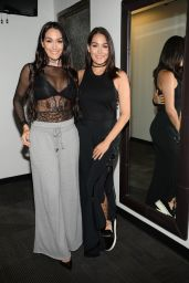 Nikki Bella and Brie Bella Appeared on Good Day New York Fox 5 in NYC 08/22/2017