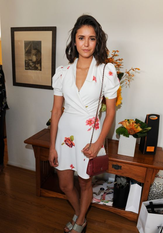 Nina Dobrev – InStyle Magazines Day of Indulgence in Los Angeles 08/13/2017