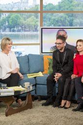 "Ola Jordan at ""This Morning"" TV Show in London, UK 08/21/2017"
