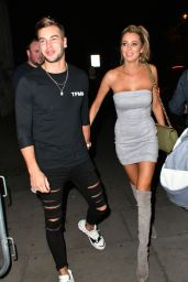 Olivia Attwood – BoohooMan by Kem Cetinay Launch Party in London, UK 08/24/2017