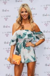 """Olivia Attwood - """"In The Style"""" Press Day in Soho, London 08/16/2017"""