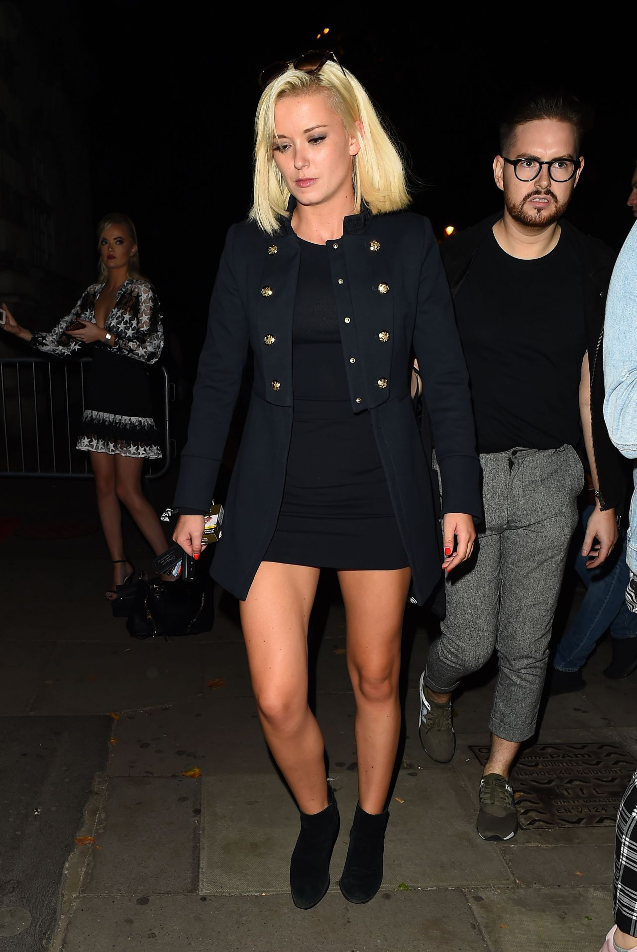 Olivia Bentley – BoohooMan by Kem Cetinay Launch Party in London, UK 08/24/2017