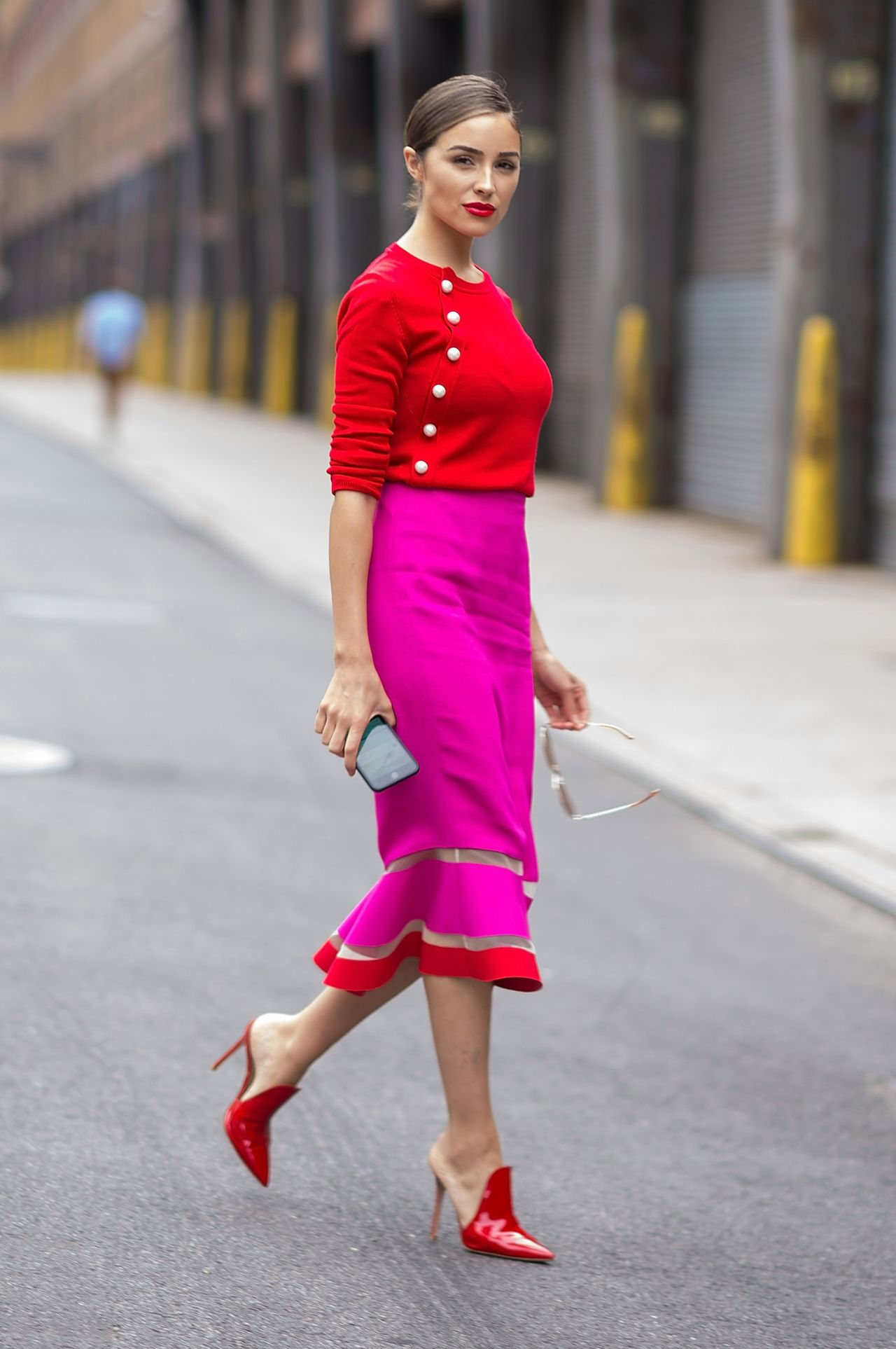 Olivia culpo is stylish soho in nyc