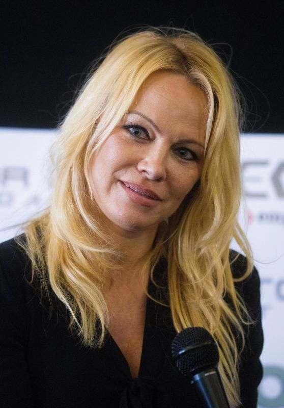 Pamela Anderson - London Film and Comic Con 07/30/2017