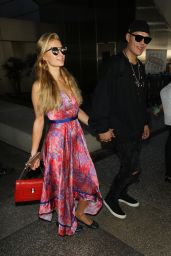 Paris Hilton at LAX Airport in Los Angeles 08/28/2017