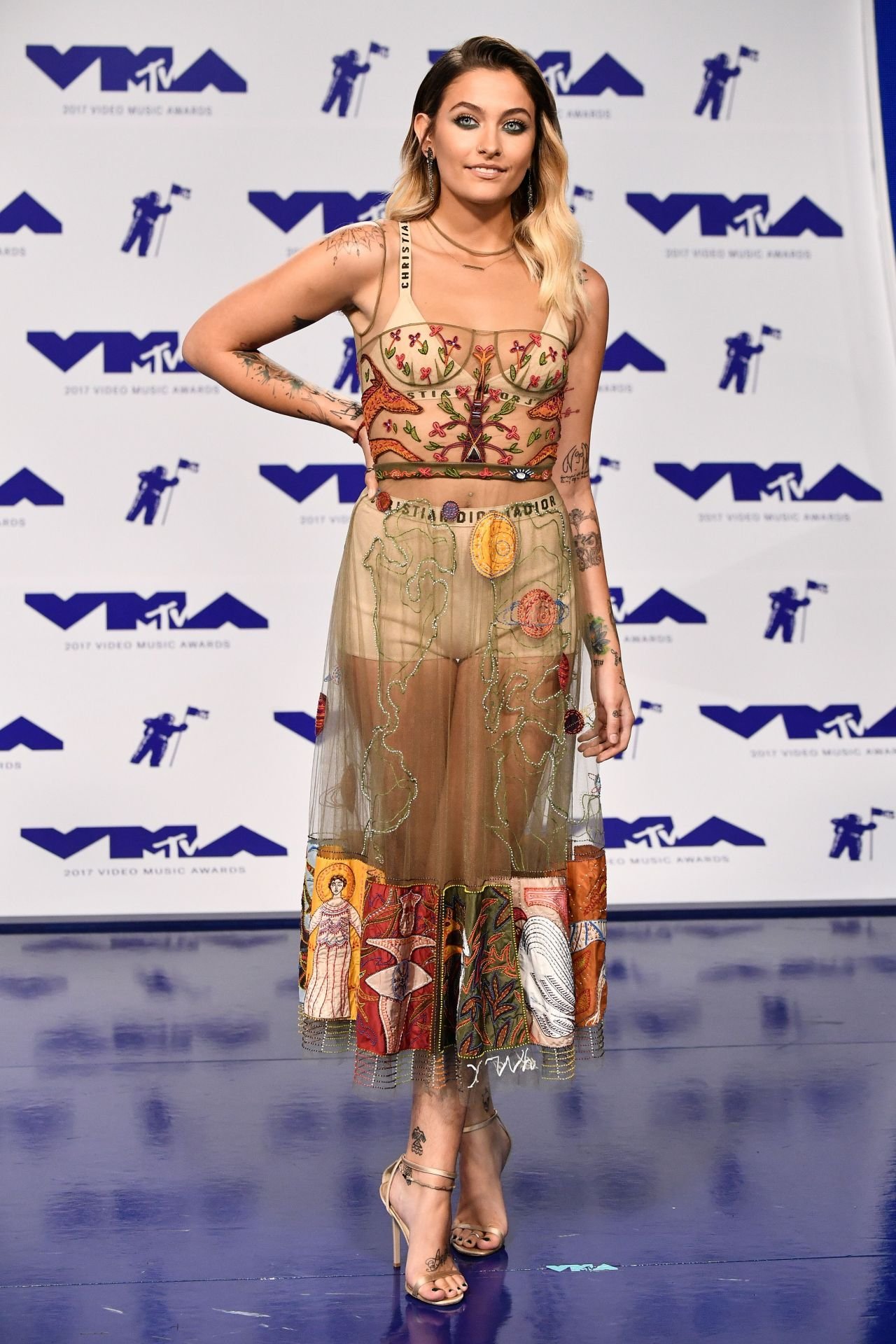 Paris Jackson – MTV Video Music Awards in Los Angeles 08 ... Emmy Rossum