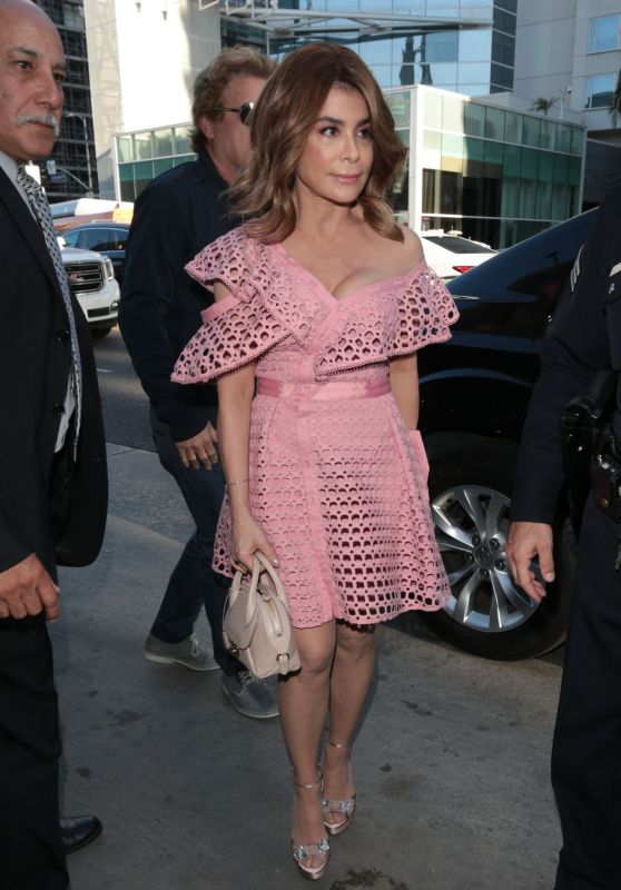Paula Abdul - Hamilton Opening Night in Hollywood 08/16/2017
