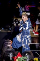 Pink - Performs live at V Festival in Weston Park, UK 08/20/2017