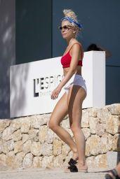 Pixie Lott Bikini Candids - Mallorca 08/24/2017