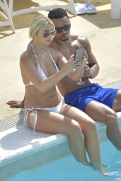 Rachel Fenton in Bikini - Holiday in Ibiza, August 2017