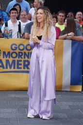 """Rachel Platten - Arrives at """"Good Morning America"""" in New York 08/21/2017"""