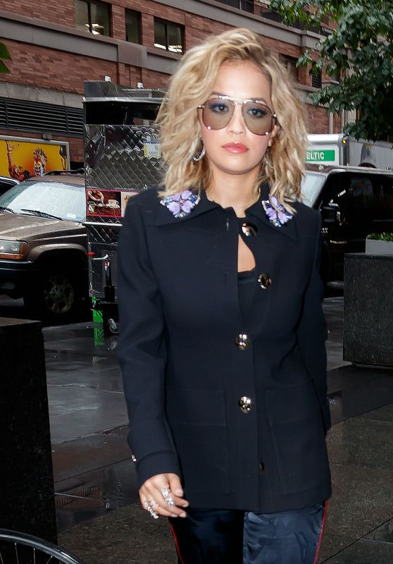 Rita Ora Arriving to Appear on Good Morning America in NYC 08/07/2017