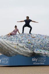 Roxanne Pallet To Help Clean Up Blackpool Beach 08/22/2017