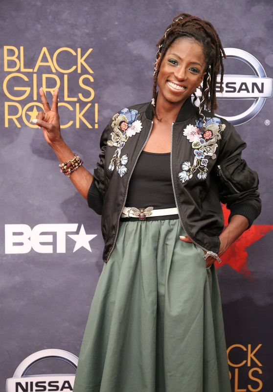 Rutina Wesley – BET Black Girls Rock in Newark 08/05/2017
