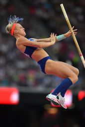Sandi Morris – Women's Pole Vault Final at the IAAF World Championship in London 08/06/2017