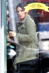 "Sandra Bullock and Cate Blanchett at Cafe Veselka in East Village - ""Ocean"