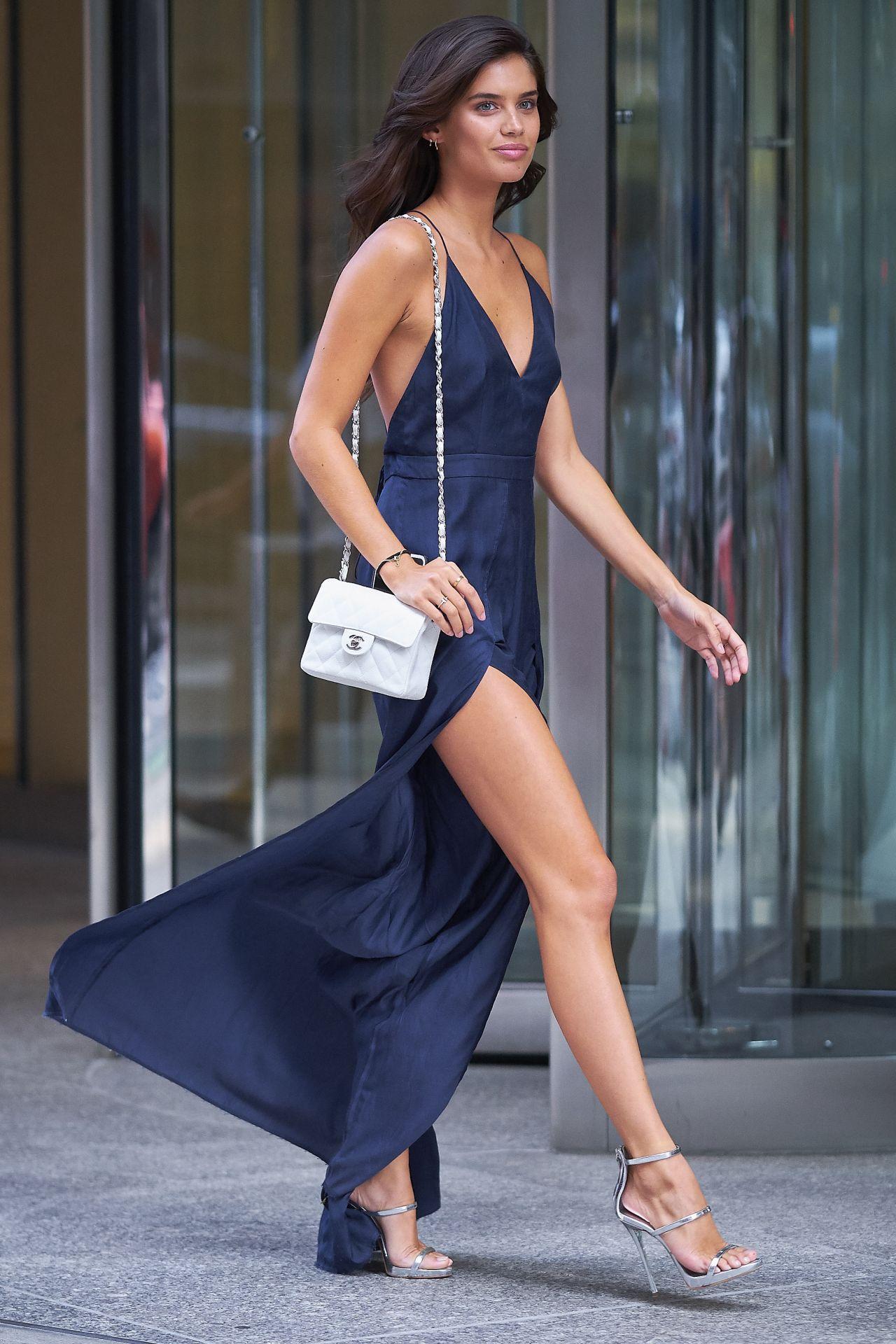 Sara Sampaio Street Fashion Fittings For The Victoria Secret Fashion Show In Nyc 08 27 2017