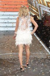 "Sarah Harding - ""Celebrity Big Brother Final Eviction"" TV Show in Borehamwood, UK 08/25/2017"