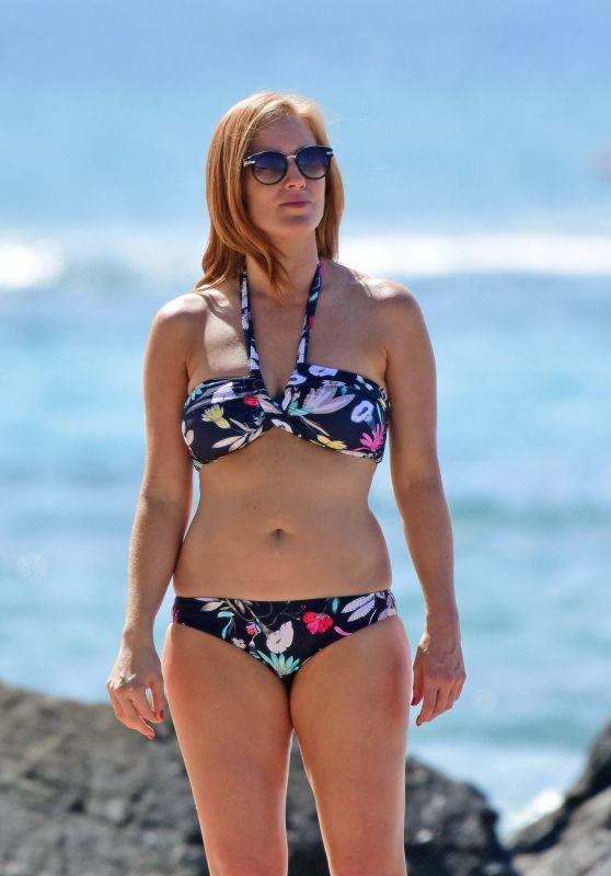Sarah Jane Mee In Bikini In Barbados 2017