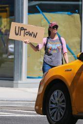 Sarah Silverman - Hailing a Cab in NYC 08/30/2017