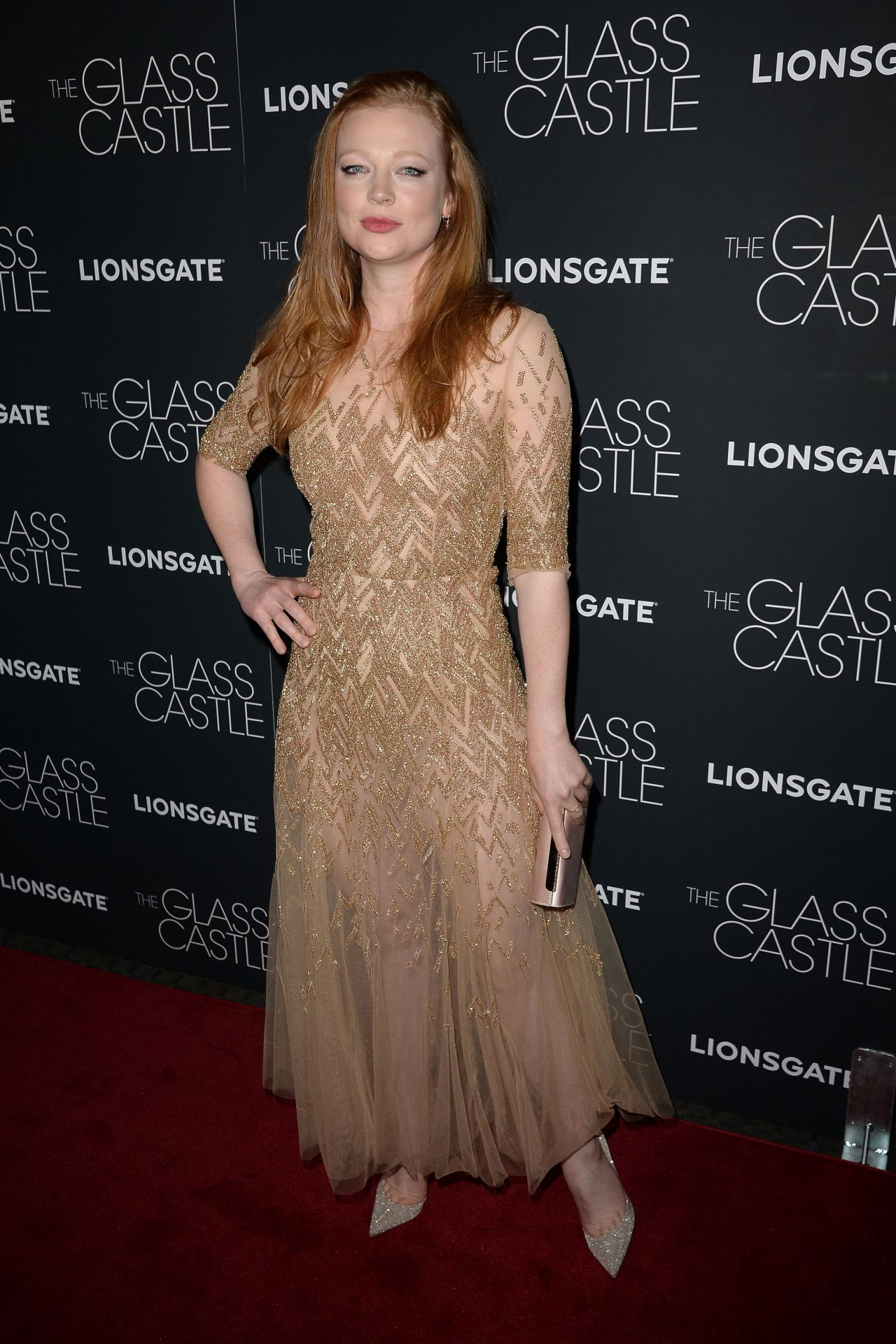 Sarah Snook Quot The Glass Castle Quot Premiere In New York 08