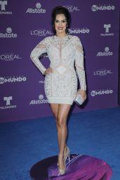 "Scarlet Ortiz – ""Premios Tu Mundo"" in Miami 08/24/2017"